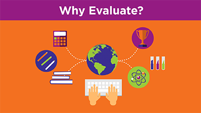 Click here to view the video titled Evaluating Websites